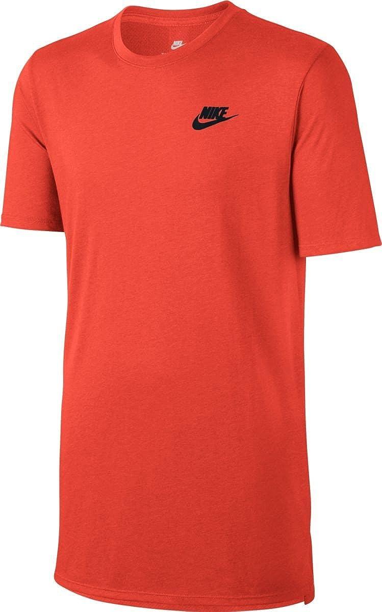 : NIKE Men's Sportswear Droptail Bonded Mesh T