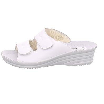 Ara comfort Damen Pantolette 123007305 VITACALF Weiß (36, weiß)