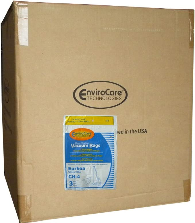 1 Case (50 pkgs) Eureka 900A PowerForce Microfiltration CN4 Canister Vacuum Cleaner Bags