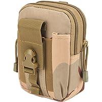 Zeato Tactical Bolsa Edc Utility Gadget para cinturón Porta riñonera con teléfono móvil iPhone 6 y 6 Plus 7/7Plus…