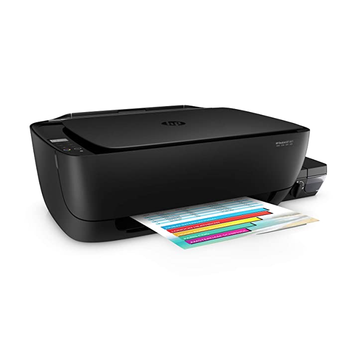 HP GT 5821 All-in-One Wireless Ink Tank Printer Ink Tank Printers at amazon