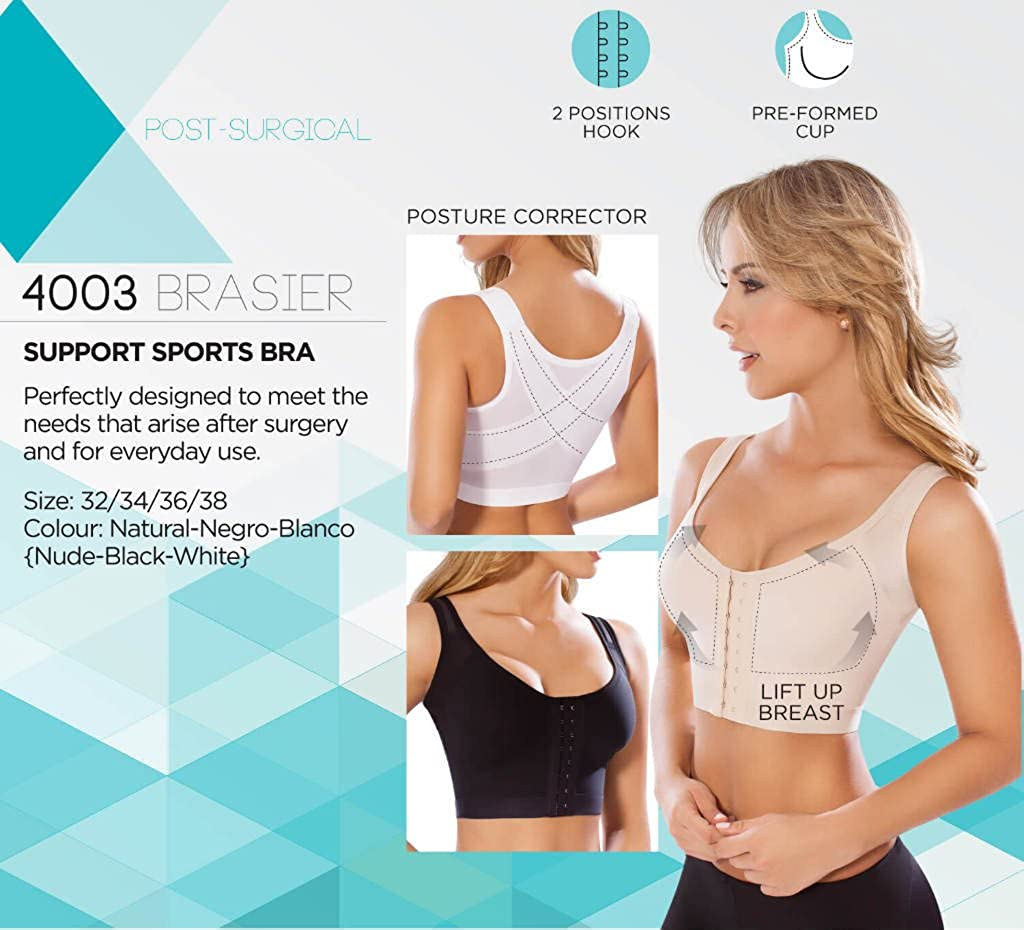 ec23f06aa93dd MOLDEATE 4003 Posture-Correcting Post-Surgical Bra at Amazon Women s  Clothing store