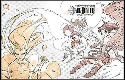 Dark Hunter Mikro Chasers Coloring Book