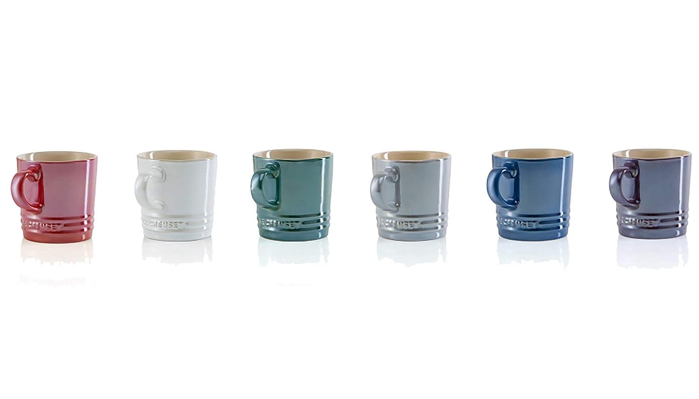 Le Creuset マグカップ メタリック 200ml 910387-01-744 6個入 カプチーノマグ  B07JXZMKKL