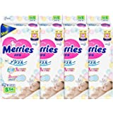 Merries Tape Diapers, S, 54ct, (Pack of 4)