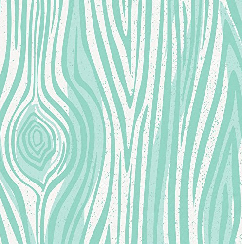 Carousel Designs Mint Large Woodgrain Toddler Bed Sheet Fitted by Carousel Designs (Image #3)