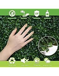 RANKA Lasting Greenery Artificial Boxwood Panels, 40\