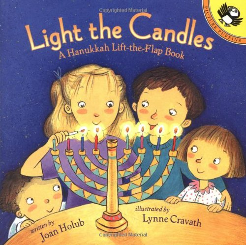 Light the Candles: A Hanukkah Lift-the-Flap Book (Picture Puffins) ebook