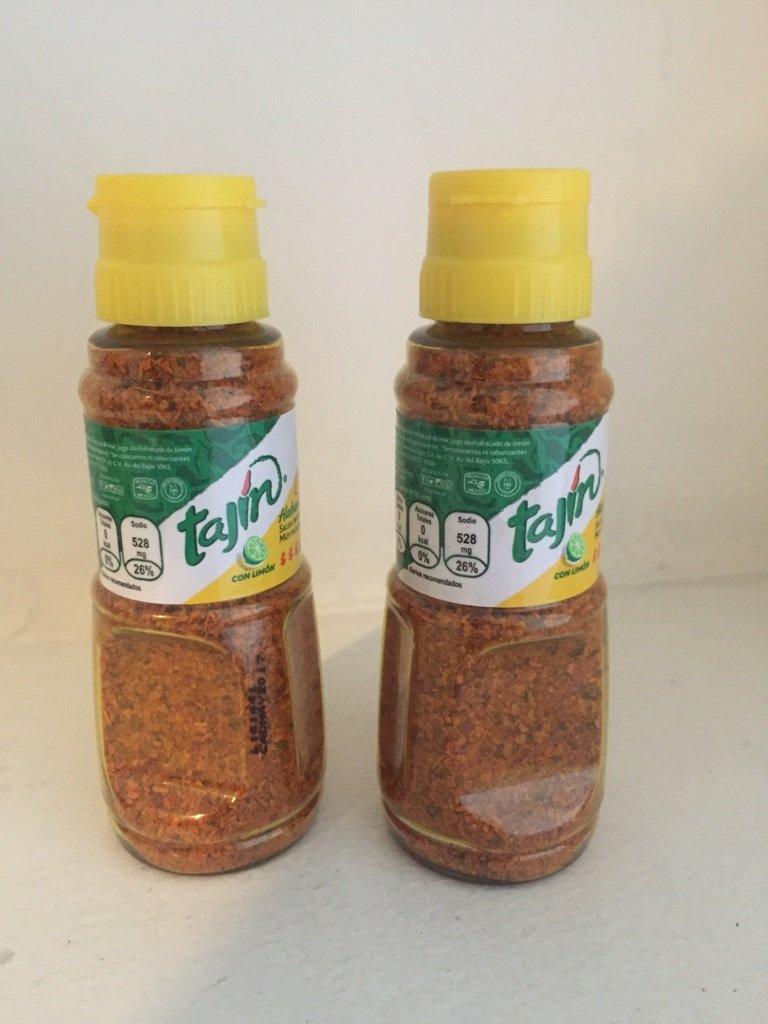 Tajin Habanero Fruit and Snack Seasoning Extra Hot 1.6oz (2 bottles)