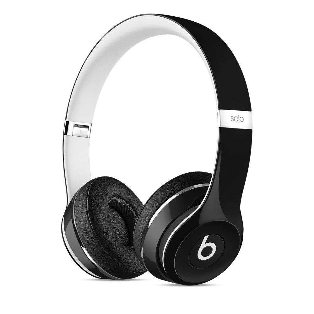 Beats Solo2 On-Ear Headphones Luxe Edition - Black  Amazon.co.uk   Electronics c5b24decf259