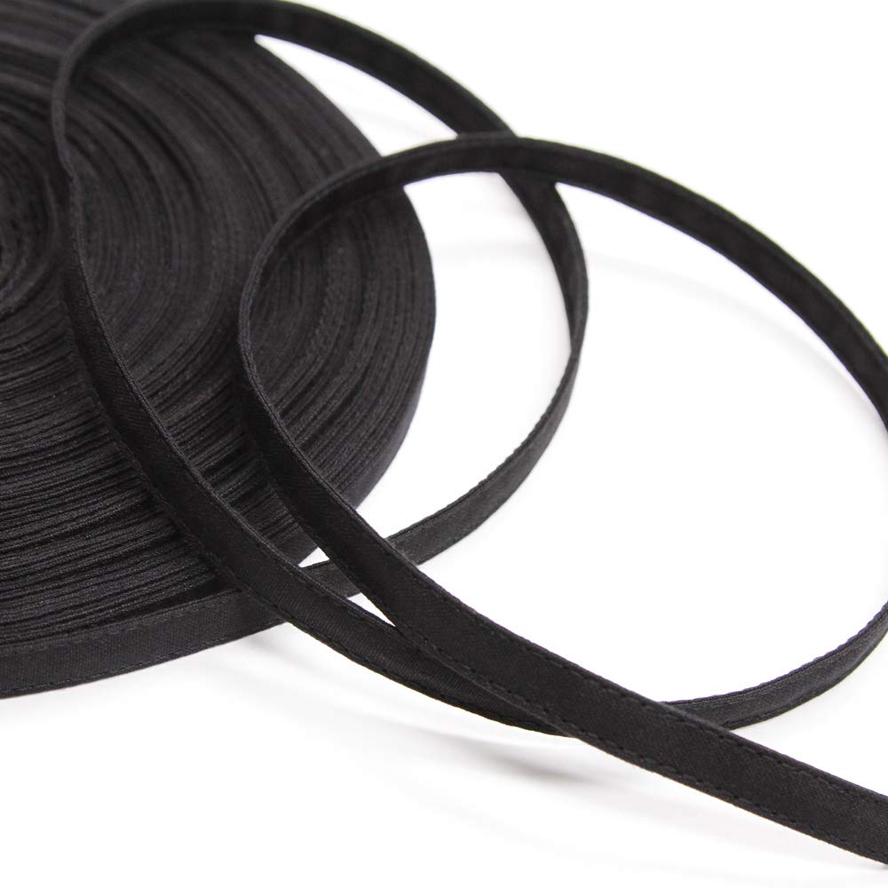 Black Cotton Casing for 1//4 Boning Sold by The Yard