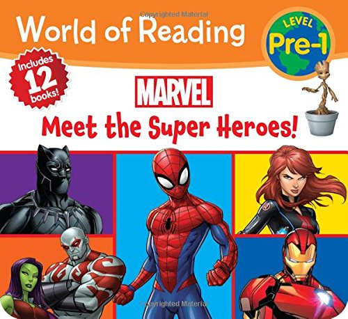 Beginning Reading Series - World of Reading Marvel Meet the Super Heroes! (Pre-Level 1 Boxed Set)