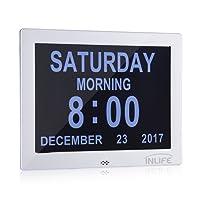 INLIFE Calendar Clock