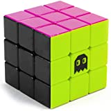 3 x 3 Stickerless Neon 80s Mod Puzzle Cube | Cool