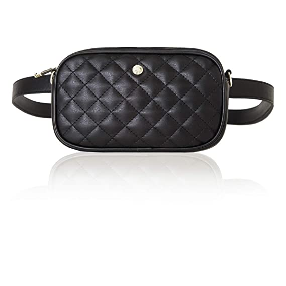 ec0e1c9bcc762 2-way Waist Bags for Women Fanny Pack Small Travel Bag Crossbody Bag Waist  Pack by The Lovely Tote Co.