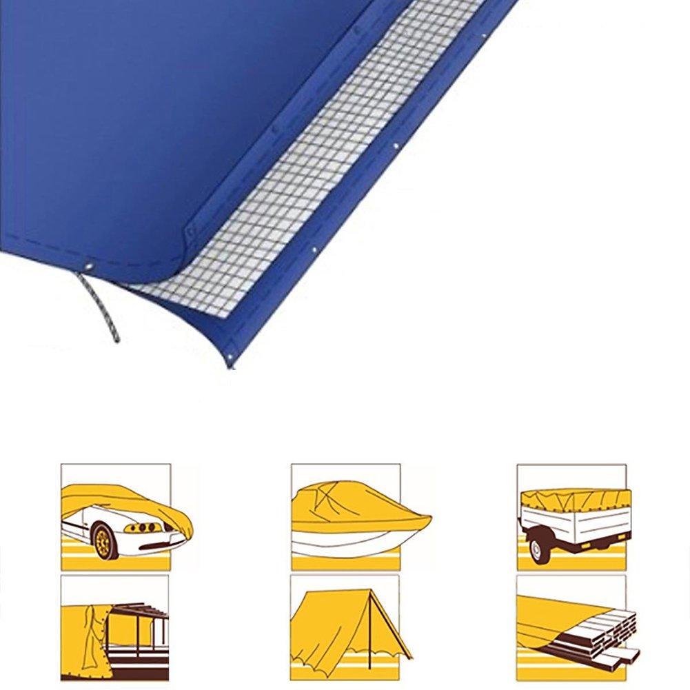 AJZXHE Verdicken Sie Plane Wasserdichte Plane, die Mattenschutzcreme des Sonnenschutzes -Plane Anti-Frostschutz, blau häutet -Plane Sonnenschutzes caab90