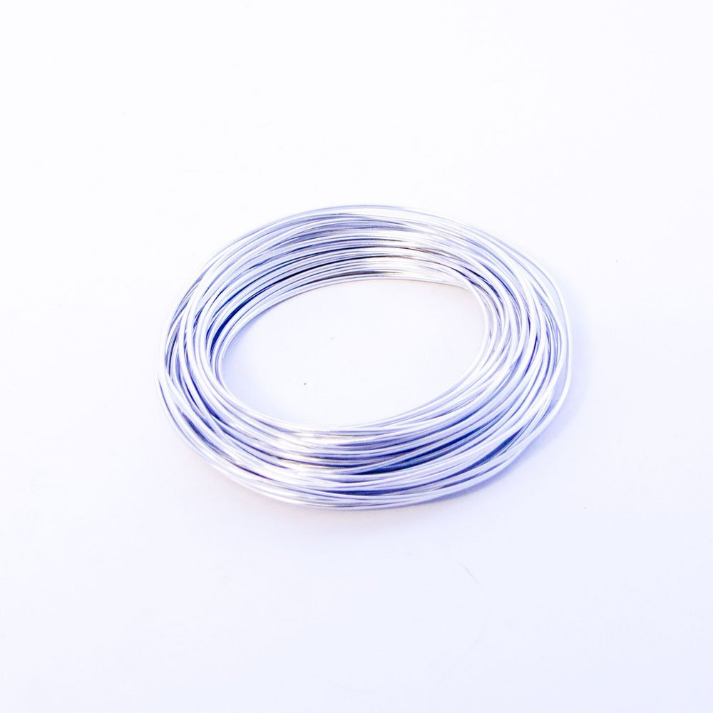 Silver Oasis Aluminium Florist Floristry 11.7 Metre Wire