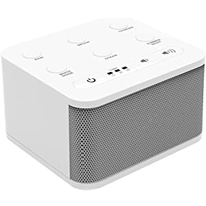 Big Red Rooster White Noise Machine - Sound Machine For Sleeping & Relaxation - 6 Natural