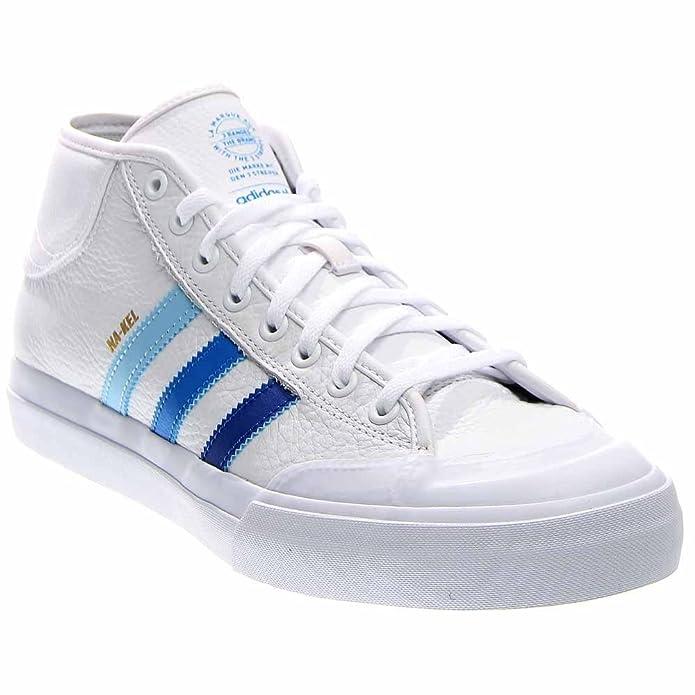 buy popular 3146e 51c62 Adidas Matchcourt MID ADV Sneakers White Collegiate Royal Bluebird Mens  Mens 11  Amazon.ca  Shoes   Handbags