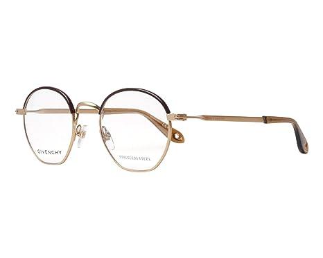 d3cc68fa9c4 Givenchy STAPLE GV 0077 SEMI-MATTE GOLD men Eyewear Frames  Amazon.co.uk   Clothing