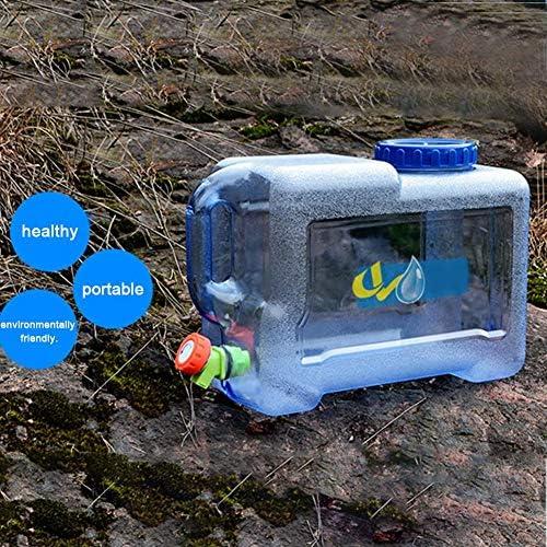 50L Tanque de Almacenamiento Agua Adecuado para Coches de Viaje Recipiente de Almacenamiento de Agua Almacenamiento de Agua para Acampada Contenedor De Agua Port/átil Tanque Bid/ón Pl/ástico con Grifo