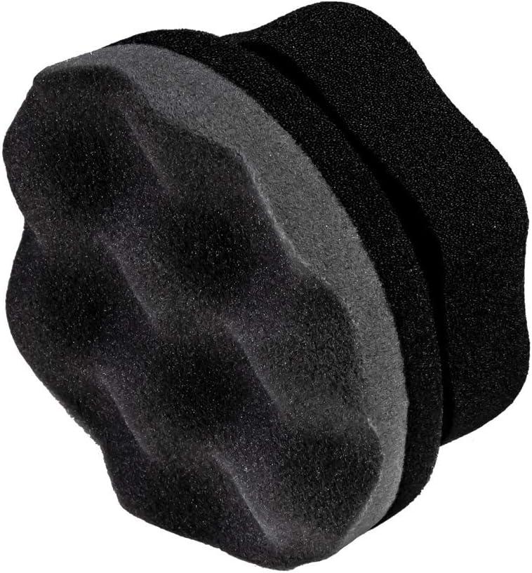 Adam's Pro Tire Hex Grip Applicator - Tire Shine Car Detailing Foam Sponge Tool | Car Cleaning Supplies After Car Wash Tire Cleaner | for Vinyl Rubber & Trim Accessories | Wheel Cleaner Rim (1 Pack): Automotive