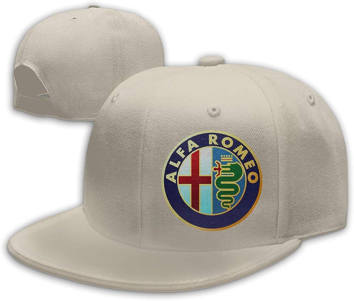ZaHome Men's Alfa Romeo Cotton Baseball Snapback Hats Adjustable Six Panel Hat