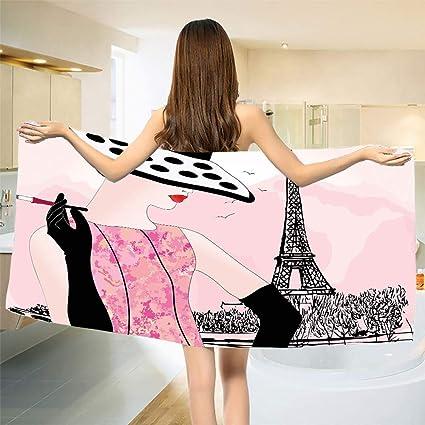 Teen girl in towel sexy