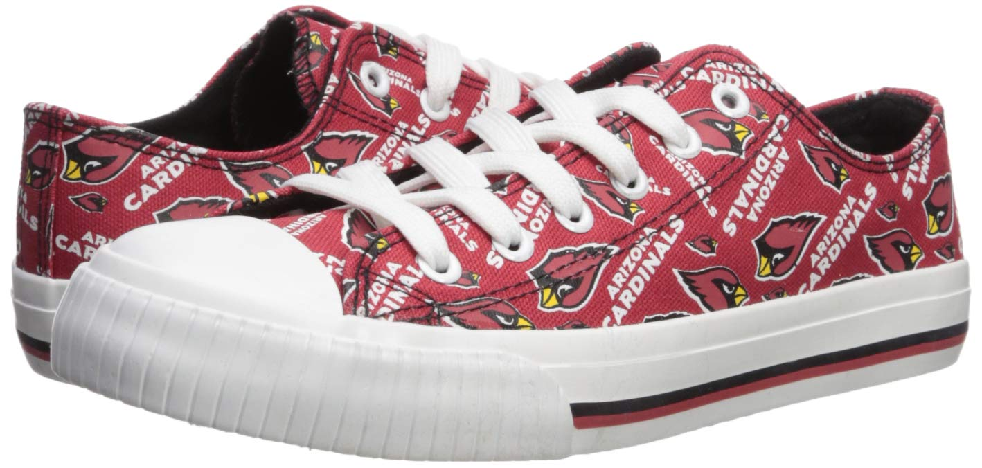 a4cd3f7de28da6 Amazon.com   FOCO NFL Womens Low Top Repeat Print Canvas Shoes   Sports    Outdoors