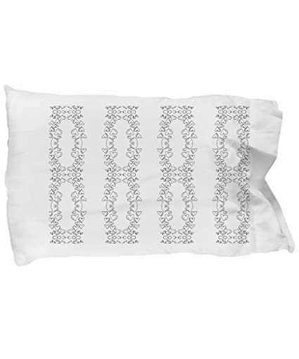 Amazon.com: Coloring Pillowcases for adults with hearts galore ...