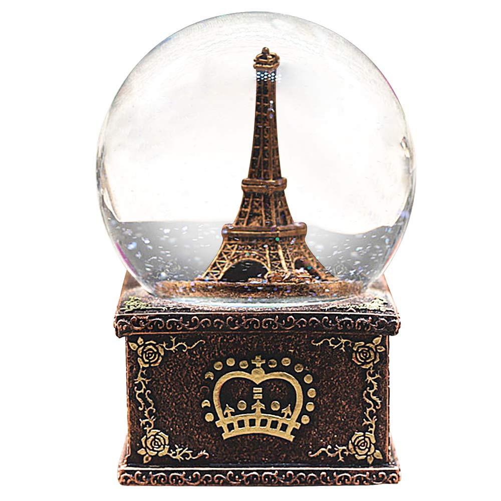 Light Tower Globes: Snow Globes