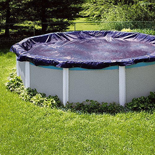Swimline S28RD 28' Winter Round Above Ground Swimming Pool Cover ()
