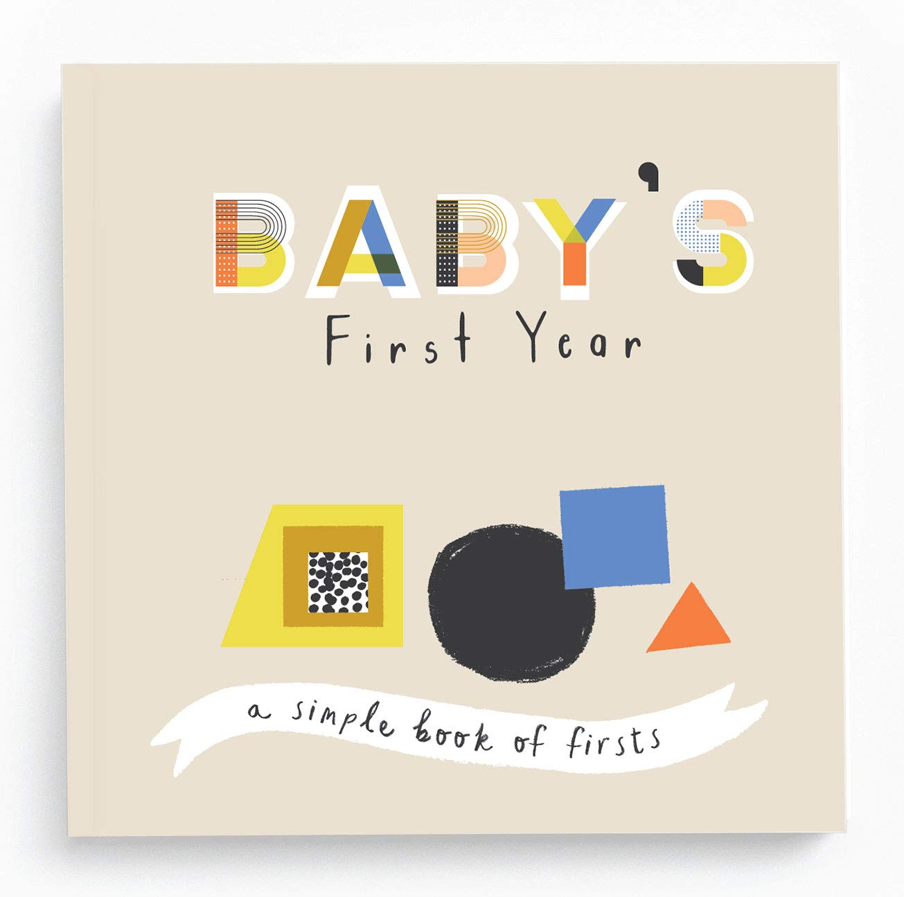 Baby Books Memory Photo Album and Baby Journal - Baby Books First Year Memory Book - A Baby Memory Book of Firsts - Little Kaleidoscope Memory Book