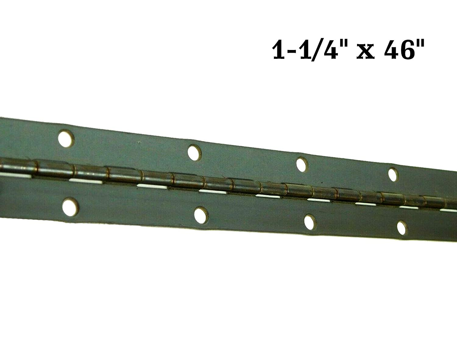 Stainless Steel Piano Hinge 1-1//2 x 6/' Continuous