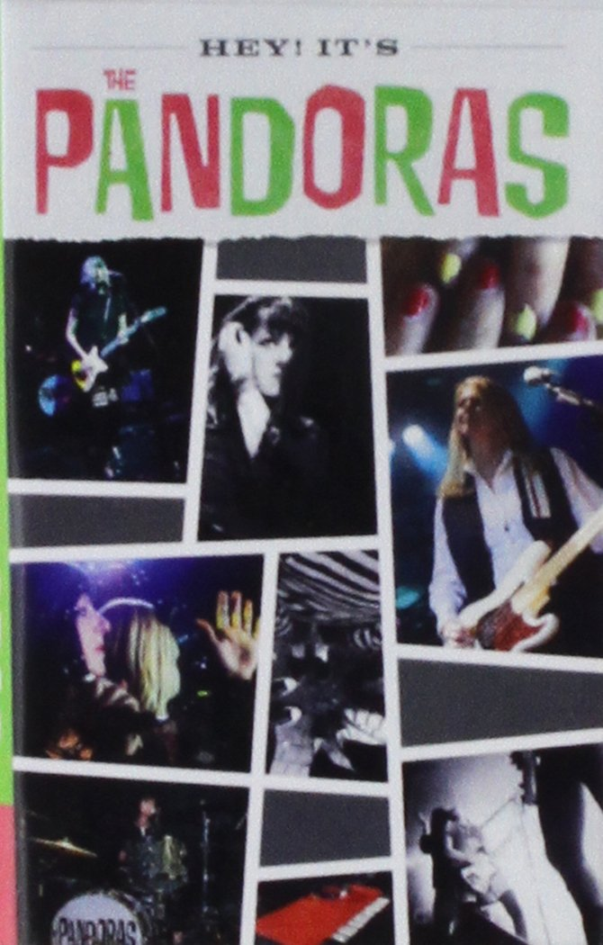 Cassette : The Pandoras - Hey It's The Pandoras (Cassette)