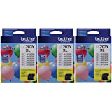 Printer LC203Y High Yield Ink Cartridge, Yellow - 3 Pack