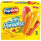 Popsicle Ice Pops, Tropical Paradise, 18 ct (frozen)