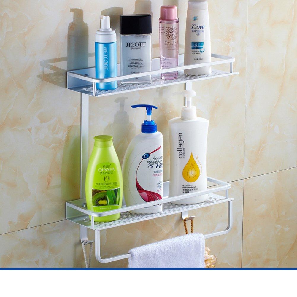 Space aluminum bathroom racks/Kitchen hardware accessories/the shelf in the bathroom-G 60%OFF