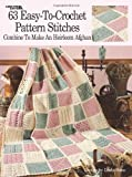 63 Easy-to-Crochet Pattern Stitches, Darla Sims, 1574866346