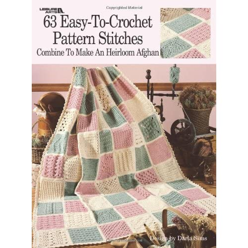 Leisure Arts Afghan Crochet Patterns Amazon