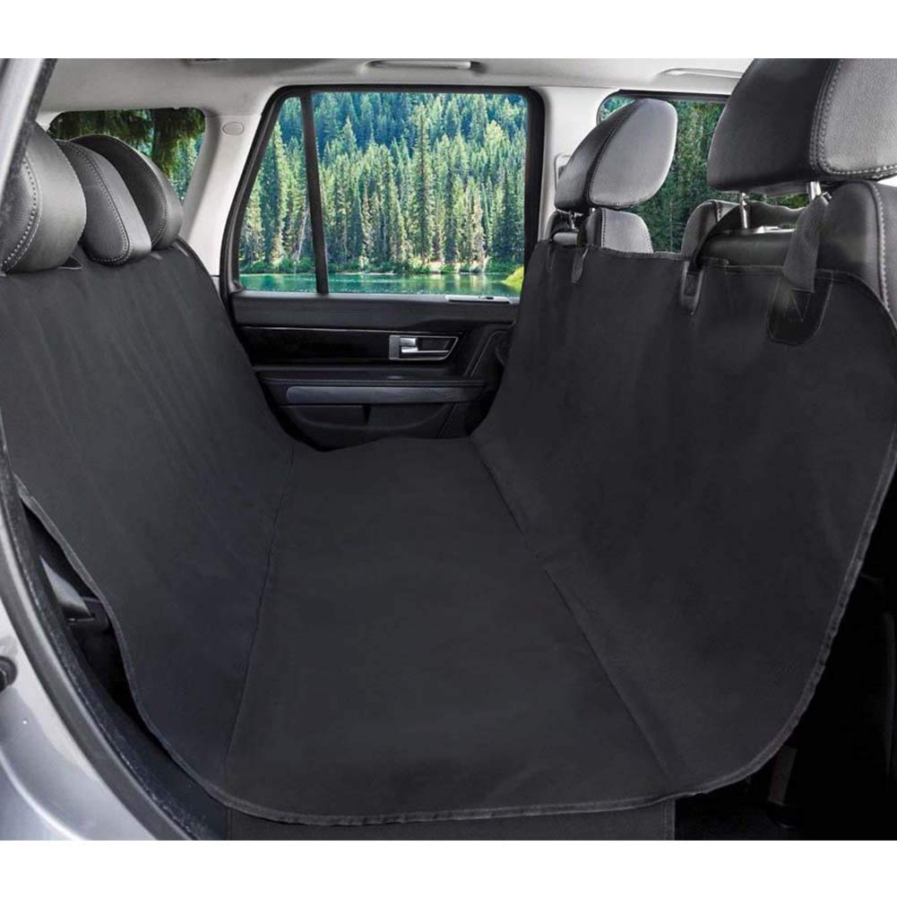KKLLZ Durable Pet Back Seat Covers Waterproof&Scratch Proof Dog Car Seat Cover Predector Against Dirt and Pet Fur