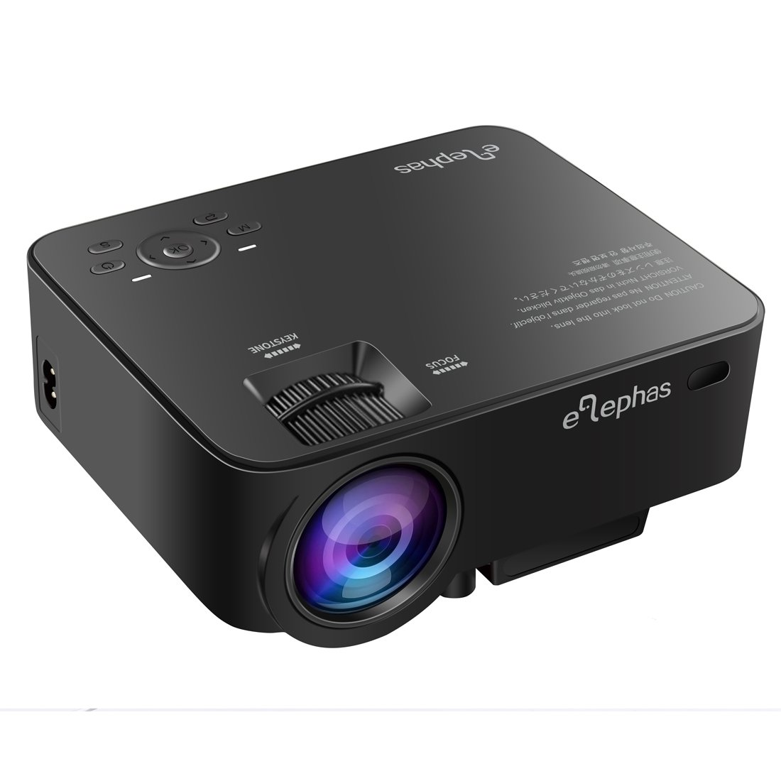 1500 lumens led multimedia mini video projector portable for Small portable video projectors