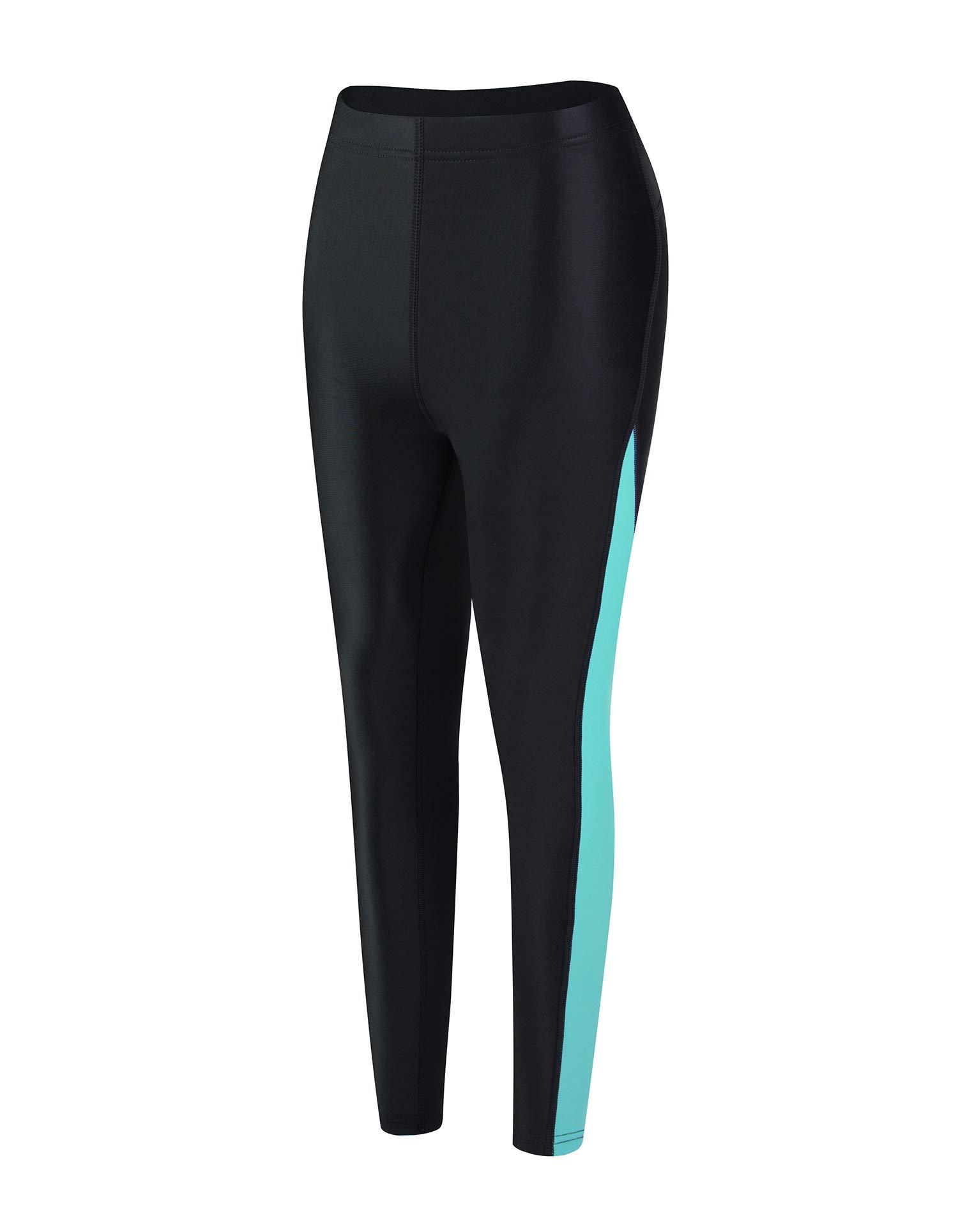 EYCE Dive & SAIL Women's 1.5mm Neoprene Wetsuit Pants Diving Snorkeling Scuba Surf Canoe Pants (Blue, XLarge) by EYCE