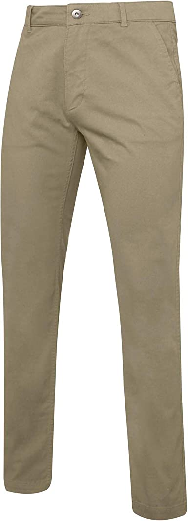 Asquith /& Fox NEW Mens Smart Trousers Casual Style Slim Fit Cotton Chino Bottoms