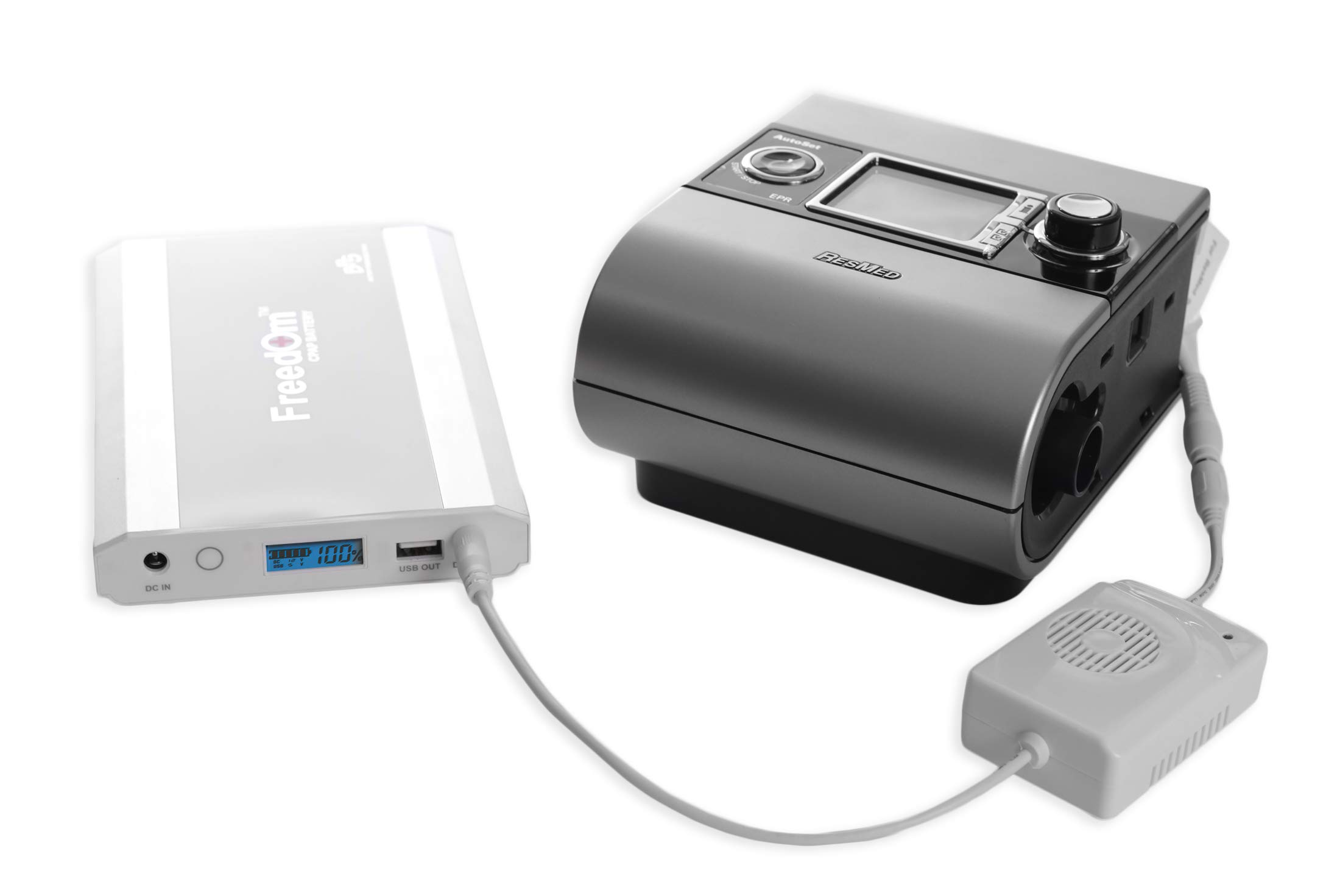 24V Power Converter for Air 10/S9 Series and Freedom or C-100 CPAP Battery (Battery Not Included) by Battery Power Solutions (Image #2)