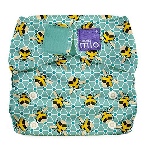 Bambino Mio, Miosolo All-In-One Reusable Nappy, Onesize, Bumble