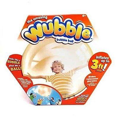 Wubble Bubble Ball Orange - No Pump: Toys & Games