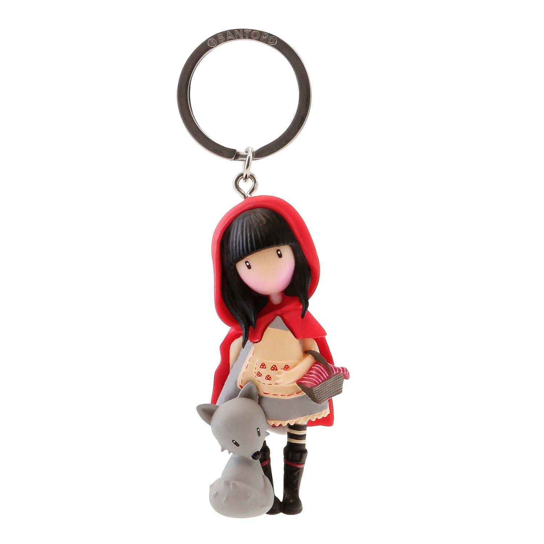 82076619830 Gorjuss Llavero mu/ñeca Little Red Riding Hood Color Rojo