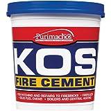 Everbuild KOS EVBKOSBKL500 - Cemento refrattario 500 kg, colore: Nero