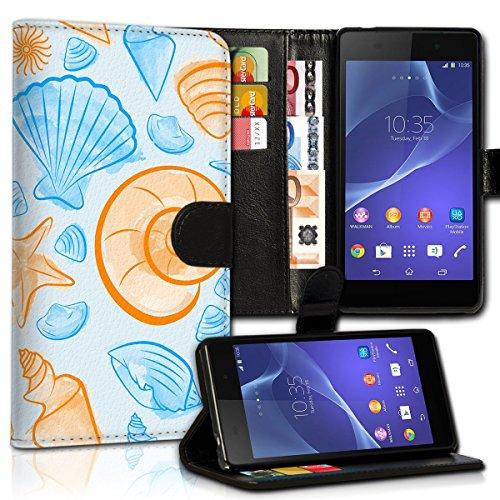 Wallet Book Style Flip Handy Tasche Case Schutz Hülle Schale Motiv Etui für Apple iPhone 4 / 4S - Design Flip MVD135